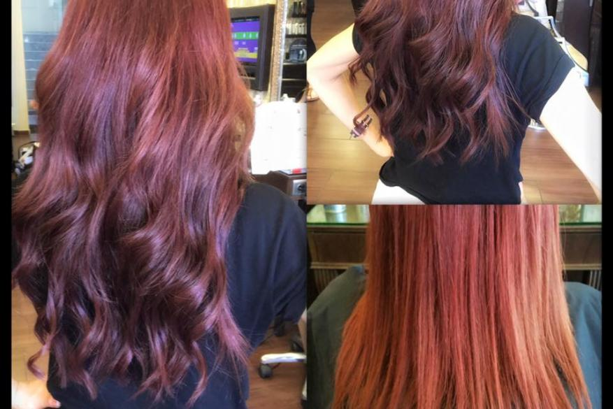 Human Hair Extensions Red Hair