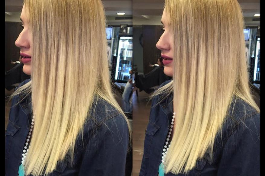 Human Hair Extensions Blond Hair