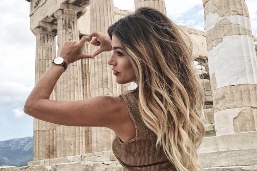 Ombre Balayaze Blonde Long Healthy Hair Όμπρε Μπαλαγιάζ Μακρύ Μαλλί