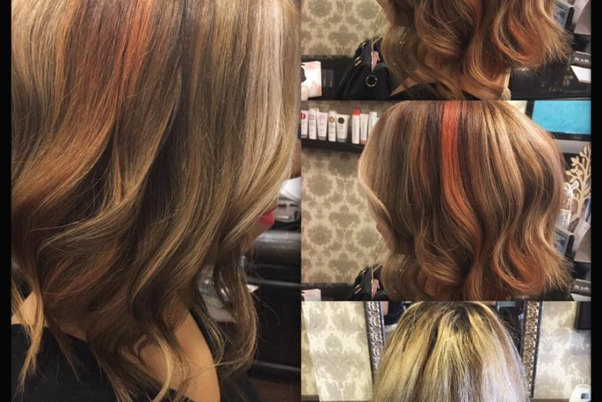 Color Id Technique Peach Blonde Αλλαγή Χρώματος Εναλλακτικό Ξανθό Πριν Μετά