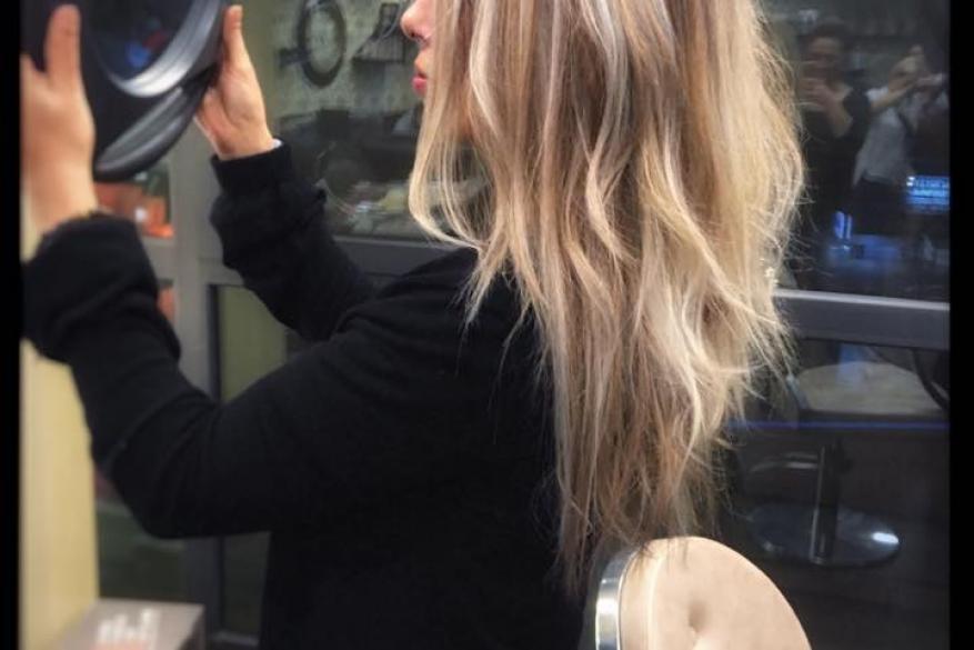 Διάσταση Ξανθό Τεχνική 3D Technique Blonde