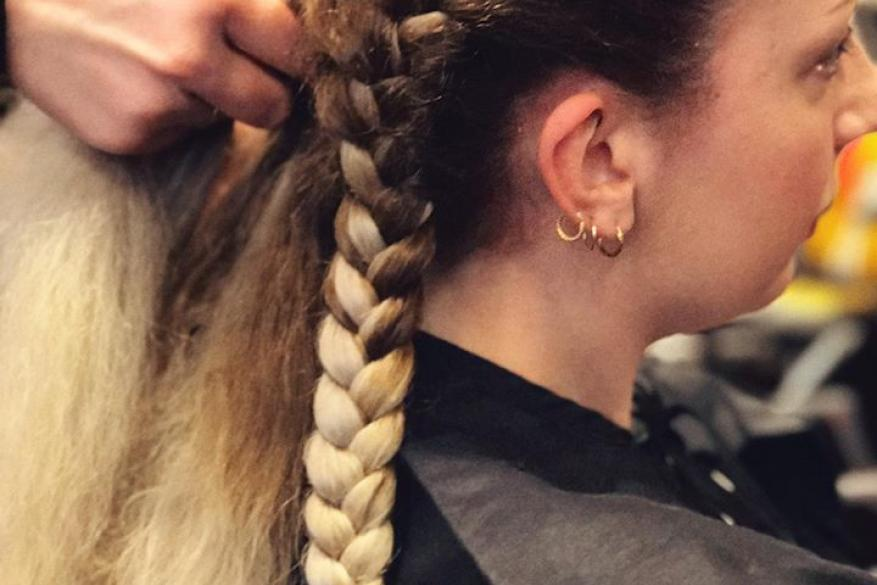 Braids Ombre Long Hair Mali Expressions Πλεξούδες Γαλλική Κοτσίδα Όμπρε