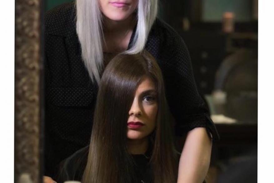 Κούρεμα Ξανθό Μαύρο Φαίη Mali Expressions Faye Haircut